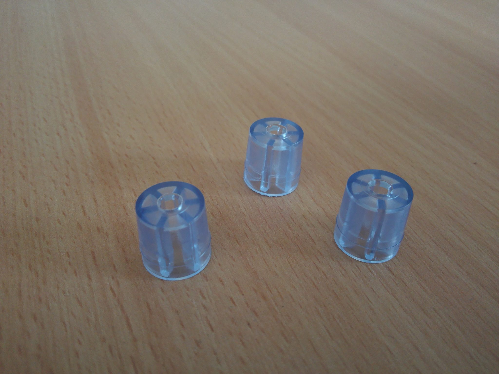 Plastic Mini Spacer Clear Screw Shopscrew Shop